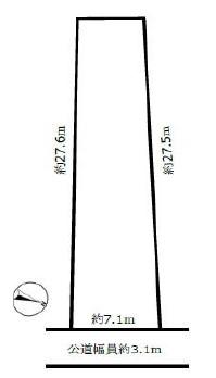 美濃市殿町敷地図