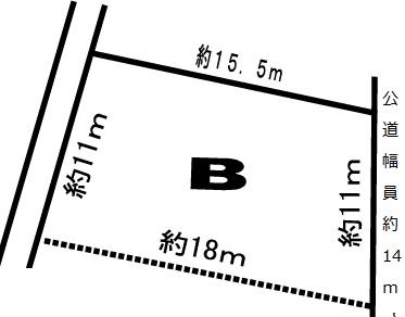 美濃市段町 B区画