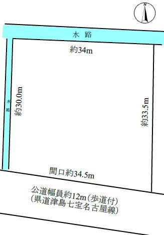 神尾町敷地図