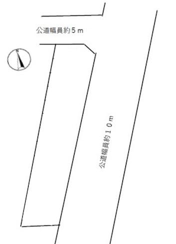 津島市南本町敷地図